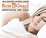 RestGuard Fully Enclosed Mattress Cover Queen Covers