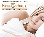 RestGuard Full Encasement Mattress Covers Double