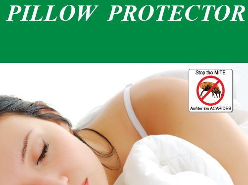 RestGuard Full Encasement Pillow Cover  Standard