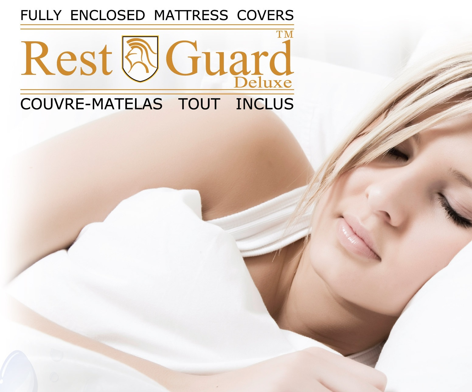 RestGuard Fully Encased Mattress Cover Double Size