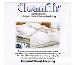 "Queen/Double AllerSoft Duvet/Comforter Cover 86""x86"""